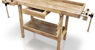 Werkbank Holz beziehungsweise die Hobelbank aus Holz