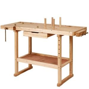 Werkbank Holz, die Hobelbank von DEMA