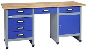 Die Werkbank Küpper 12577, klein aber fein in Blau