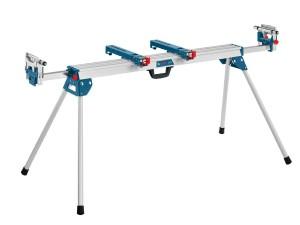 Werkbank Bosch: Der spezielle Zusatz Arbeitstisch für Kapp- und Gehrungssägen